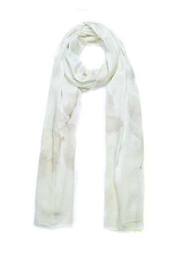Silk and Cashmere Saf İpek Ekolojik Şal Sarı